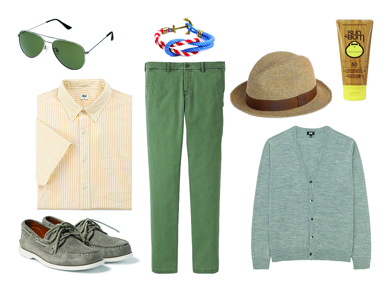 how to wear yellow weekend
