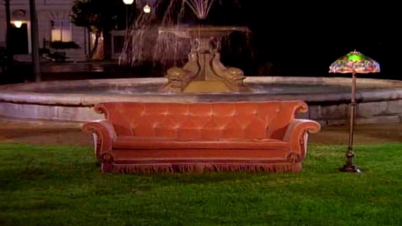 friends opening theme song couch