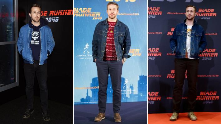 ryan gosling bladerunner premieres