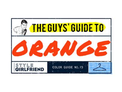 guys guide to orange graphic