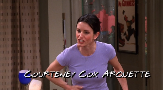 courtney cox arquette friends