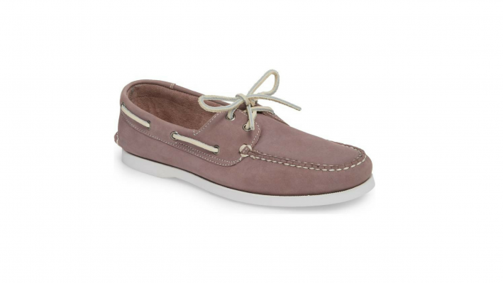1901 lavender boat shoes