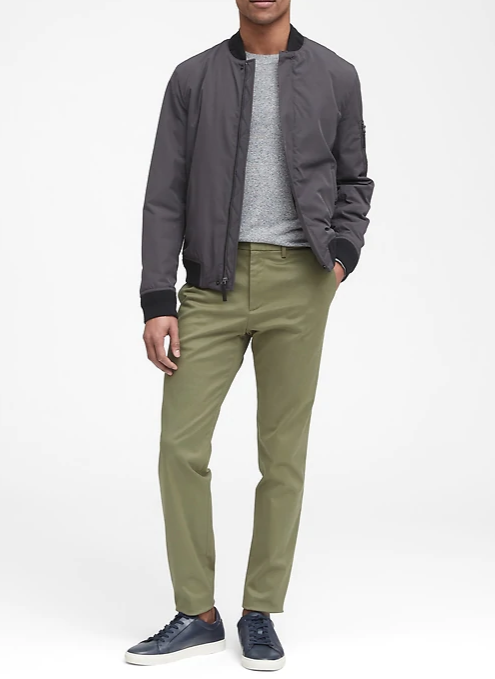 banana republic mason athletic fit chinos