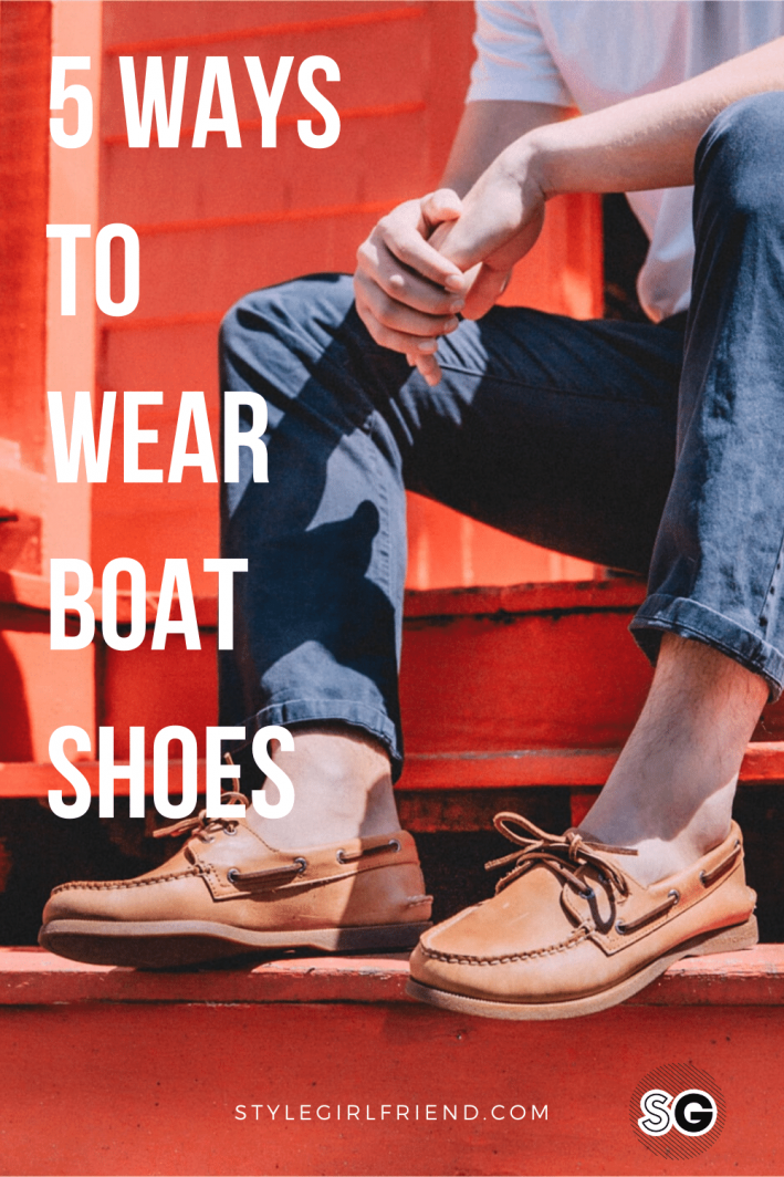mens boat shoes outfits