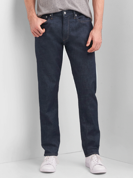 gap athletic fit jeans