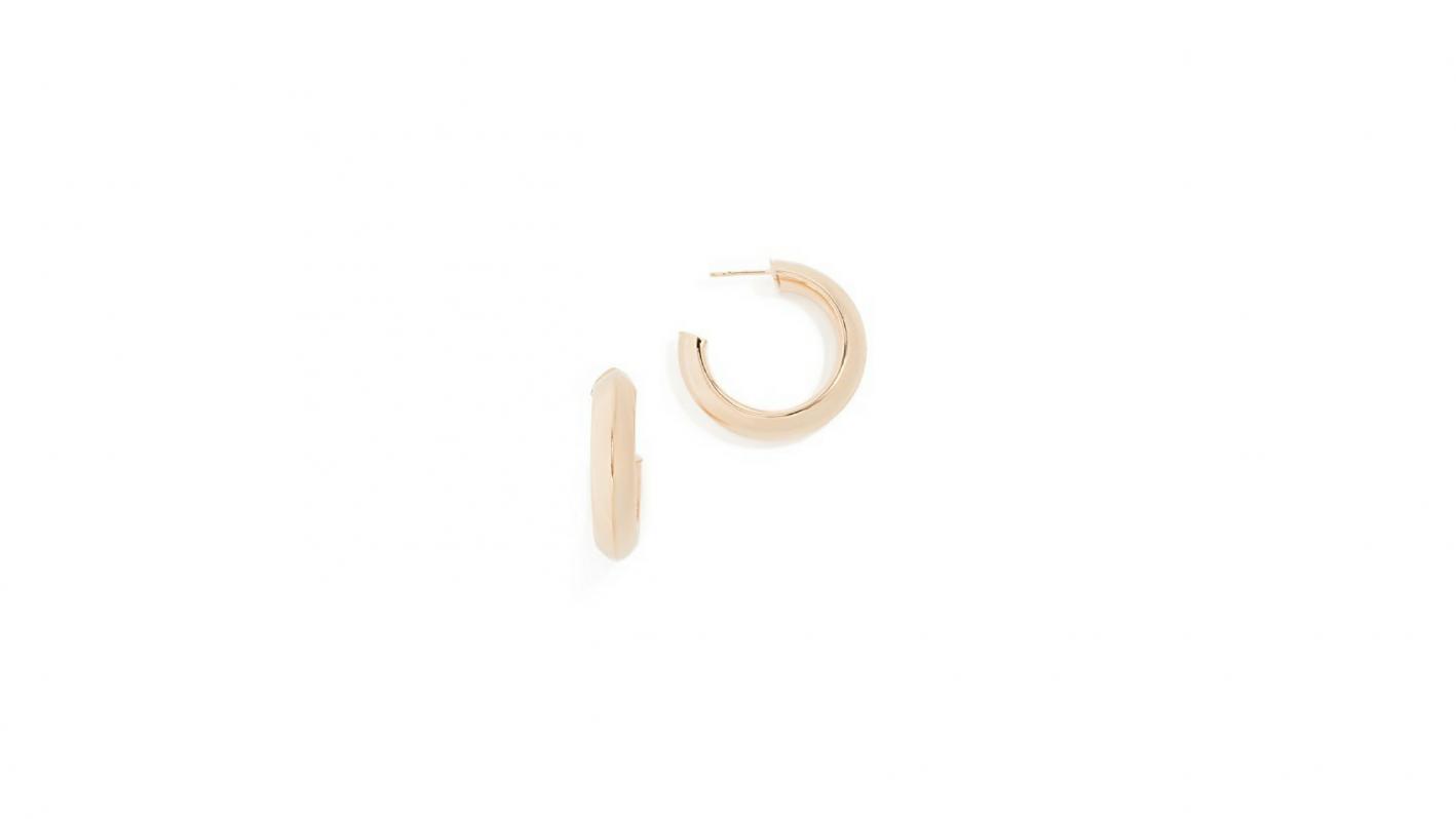 bronzallure hoop earrings