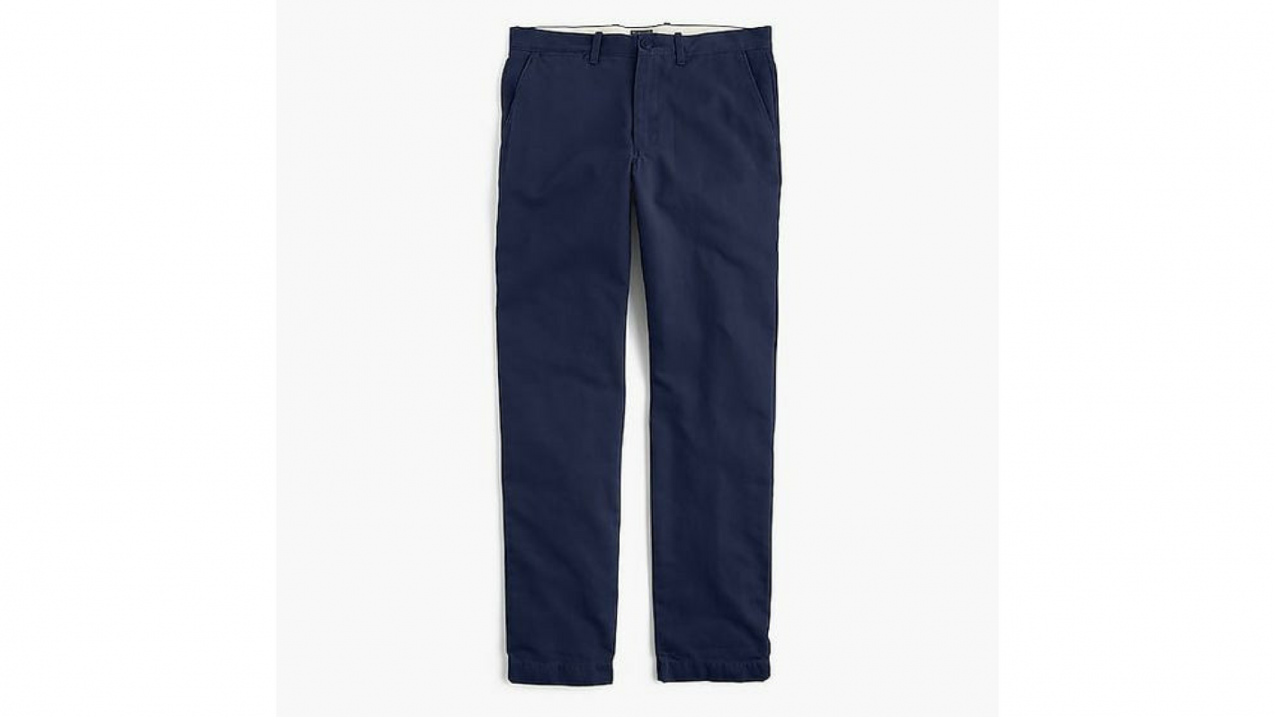jcrew athletic fit chinos