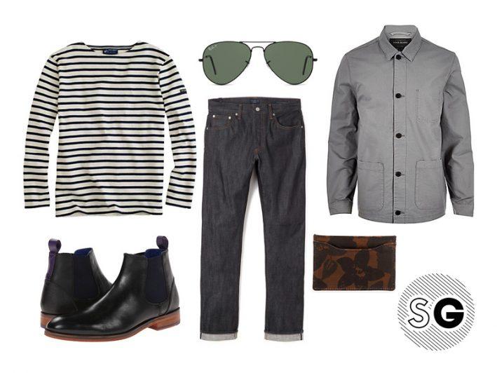 breton stripes outfit ideas