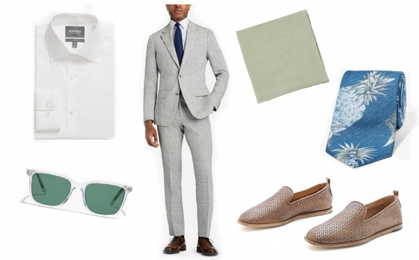 beach formal men's wedding dress codes
