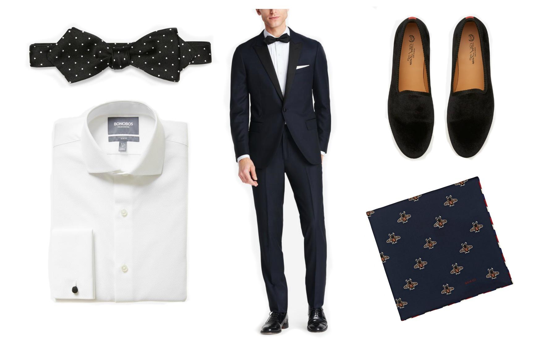 men's wedding dress code black tie optional