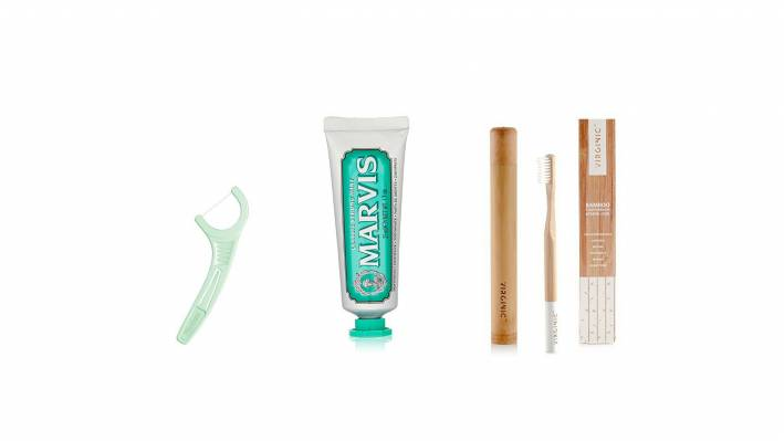 Floss-Toothpaste-Toothbrush