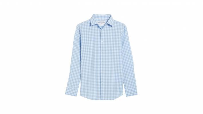 mizzen and main gingham shirt
