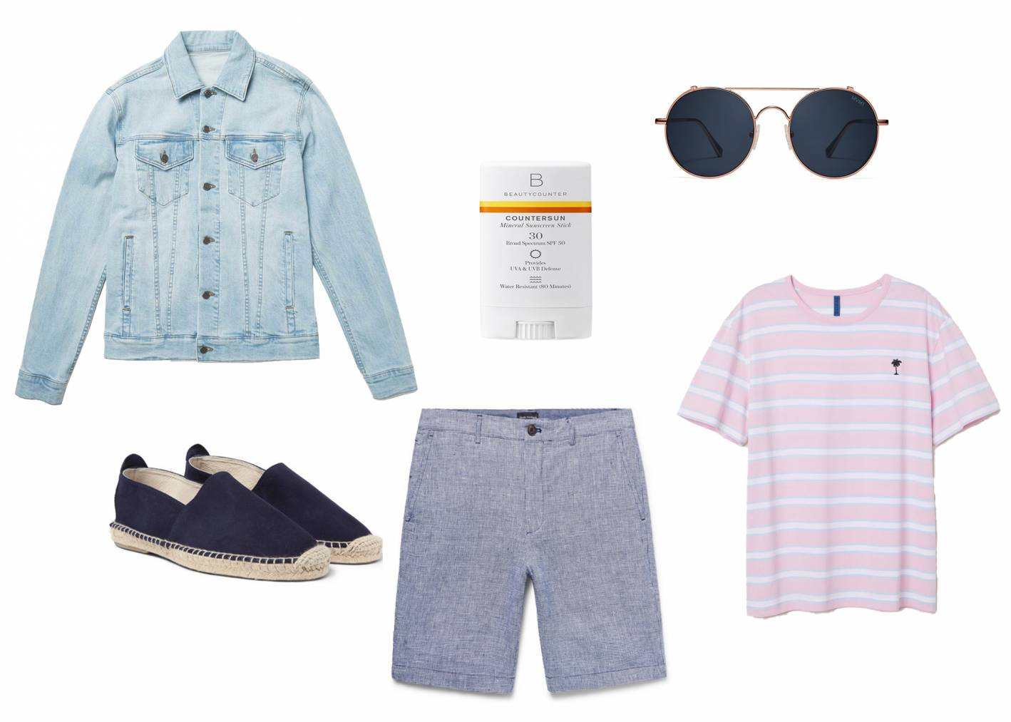 casual summer outfit for men