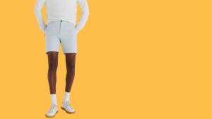 how to wear linen shorts