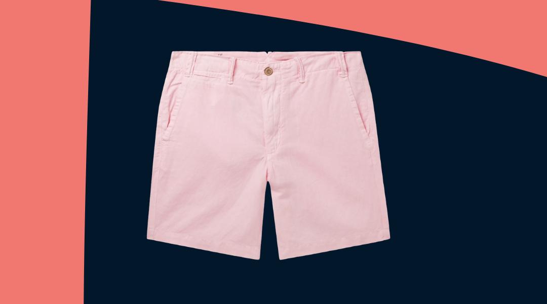 polo ralph lauren linen shorts summer 2020