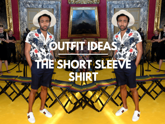 How to Wear a Short Sleeve Button up Shirt