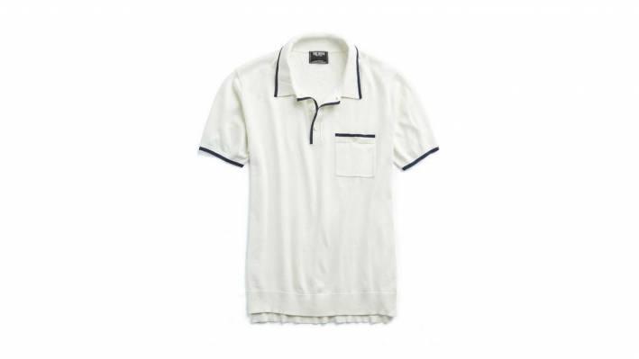 white todd snyder polo shirt