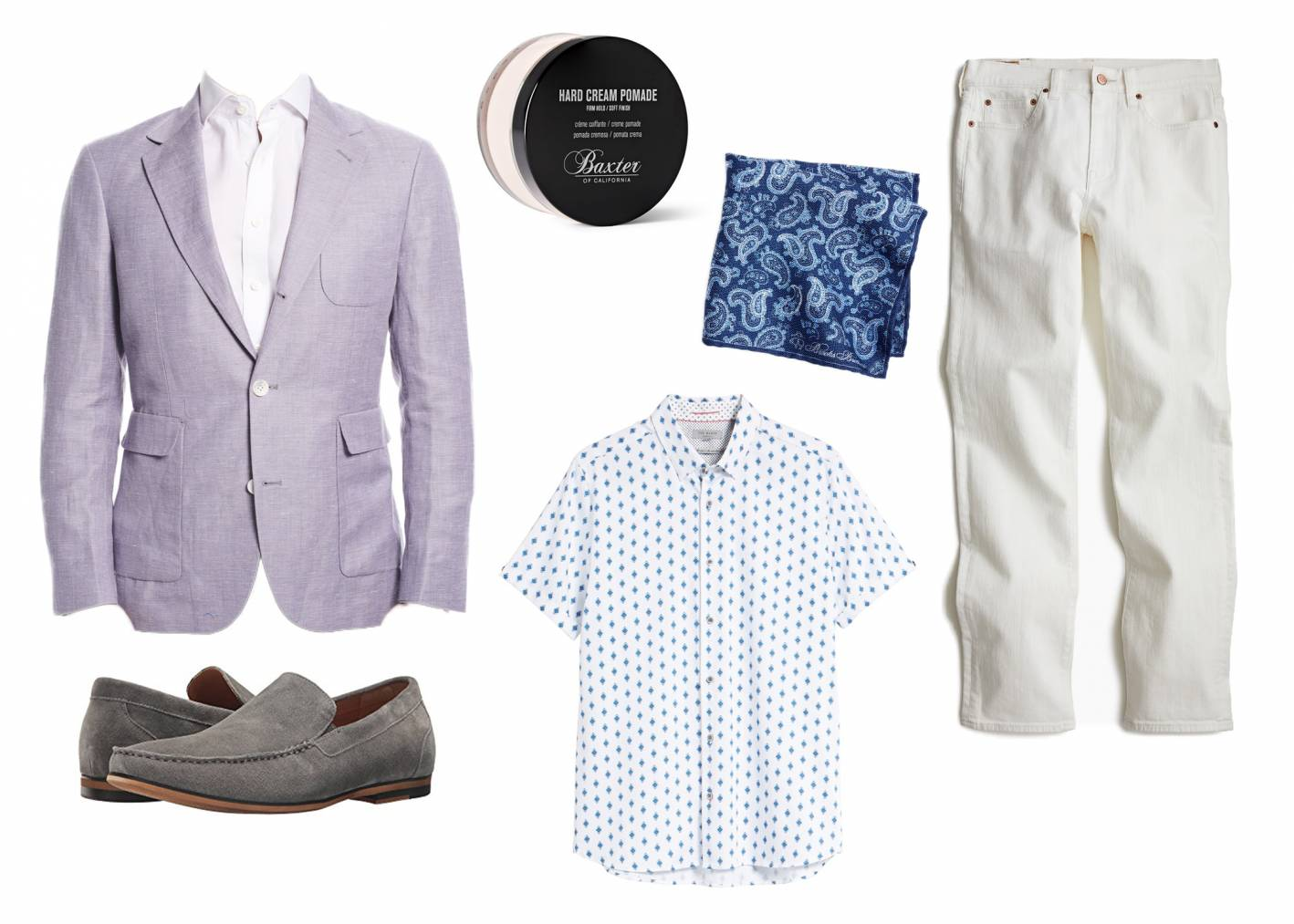 white jeans look 3