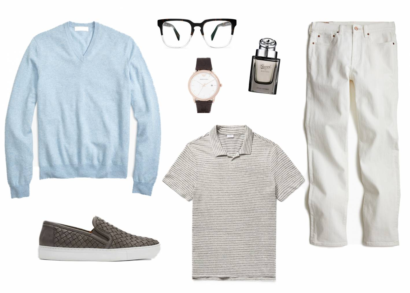white jeans look 4