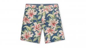 faherty printed shorts