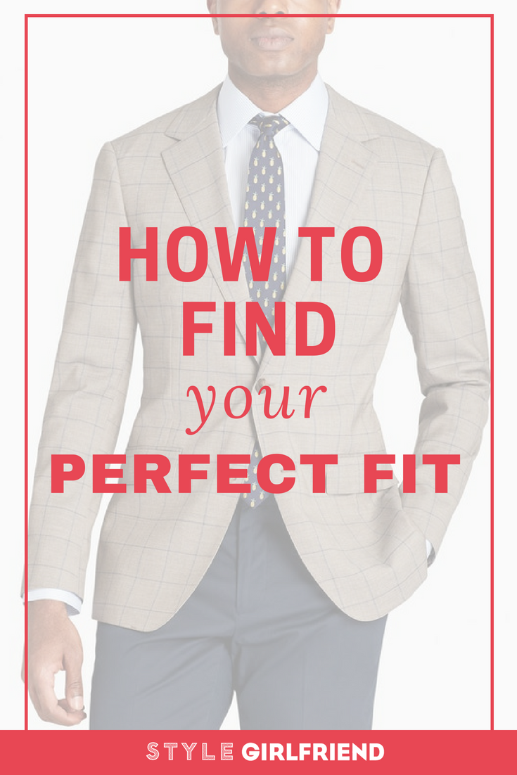how to find your perfect fit, mens clothes fit guide