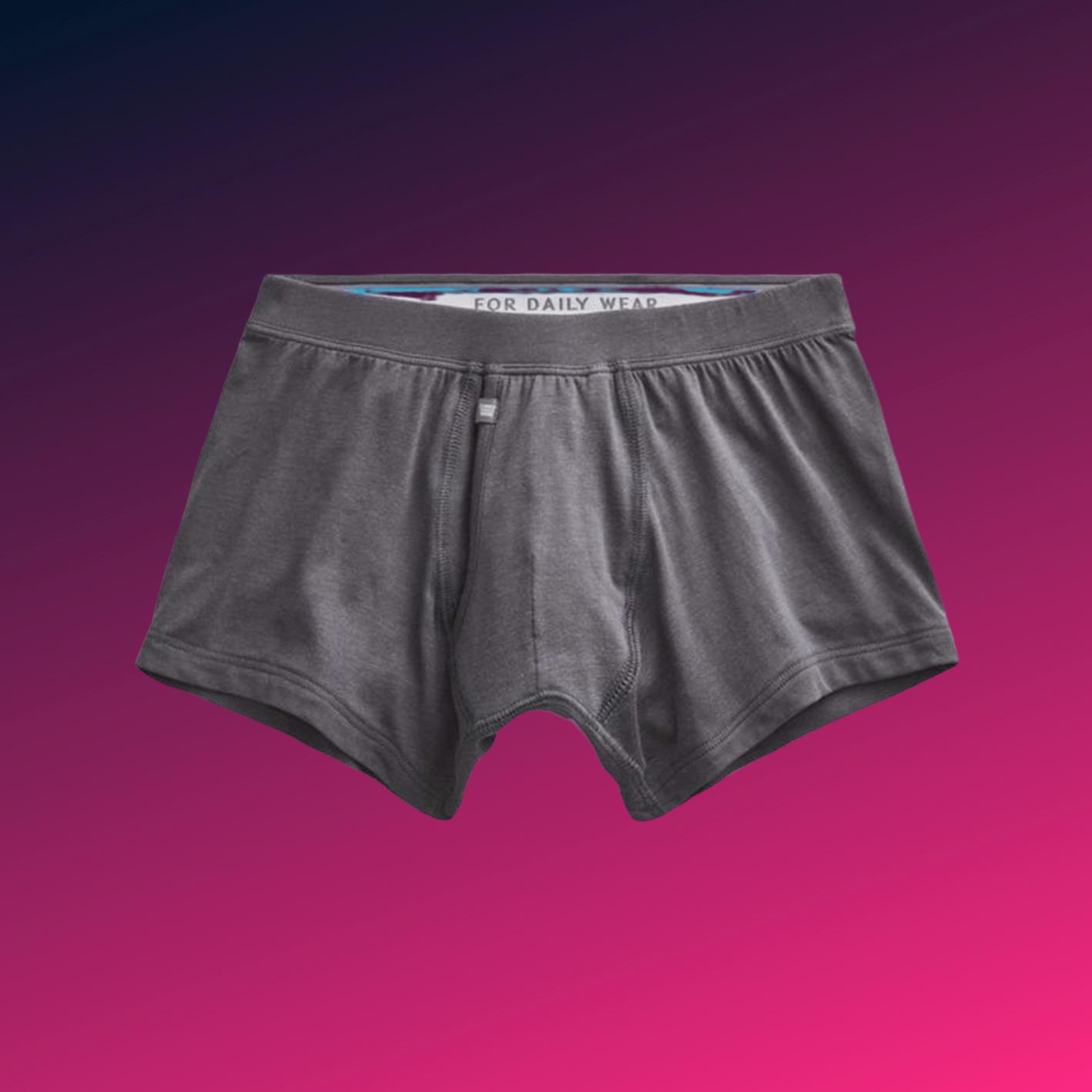 best men's underwear mack weldon silver trunks