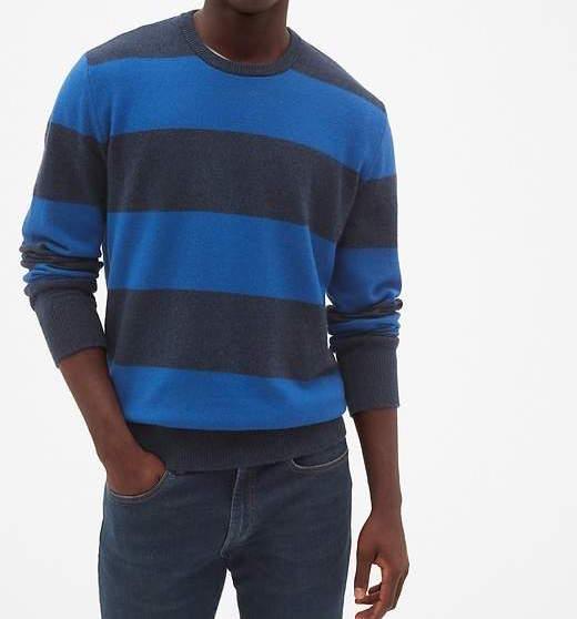 gap navy blue sweater