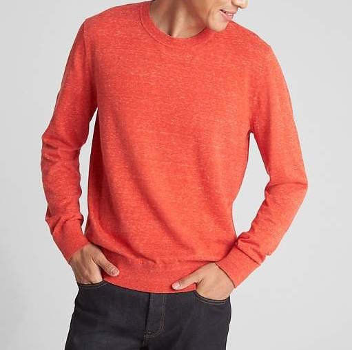 orange gap sweater
