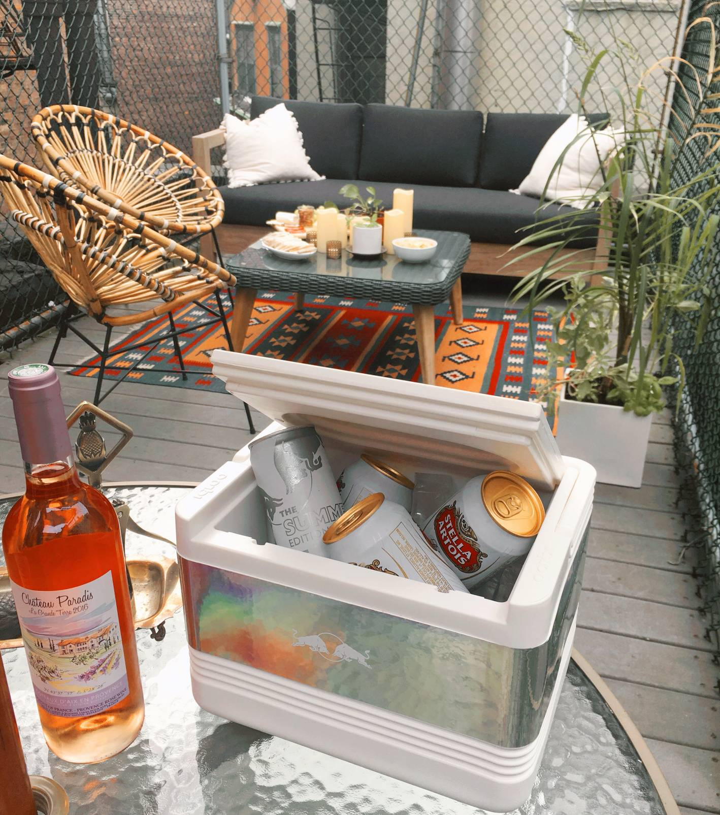 outdoor entertaining stations