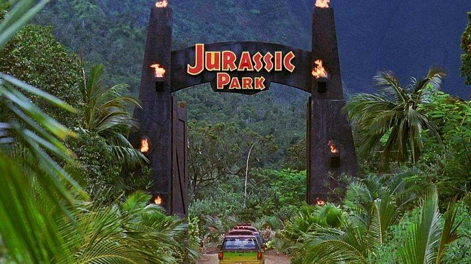 jurassic park make out movie