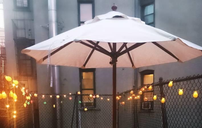small patio entertaining ideas