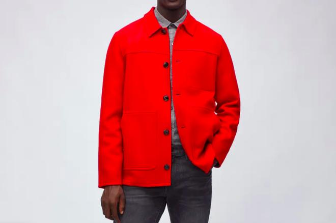 bonobos red chore jacket
