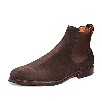 allen edmonds suede chelsea boot