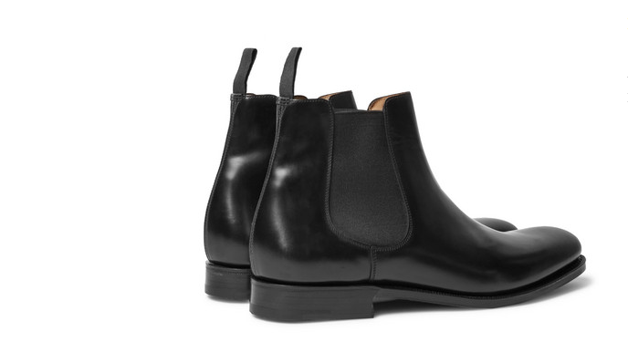 church's leather chelsea boots