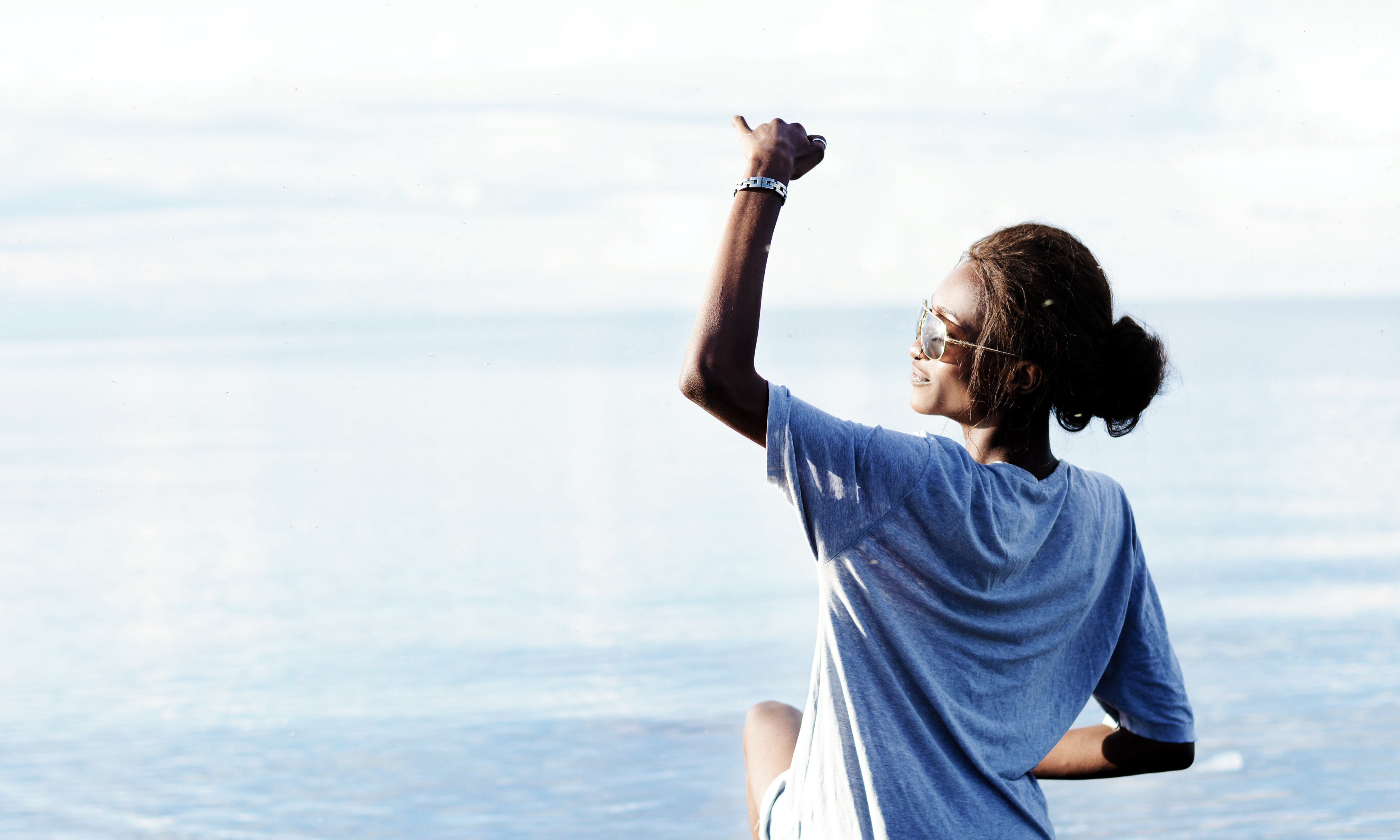 how to get what you want from life, woman with fist in air