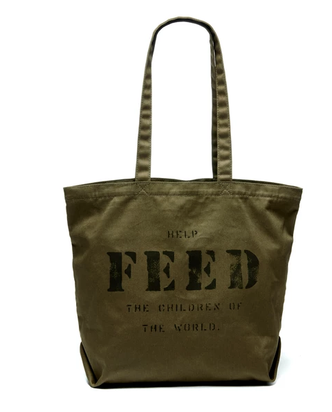 feed project tote bag