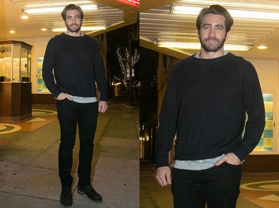 jake gyllenhal black jeans
