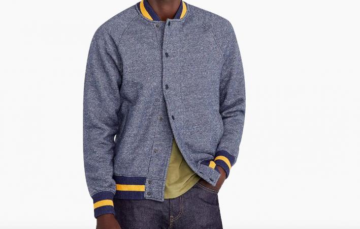 jcrew raglan sleeve jacket