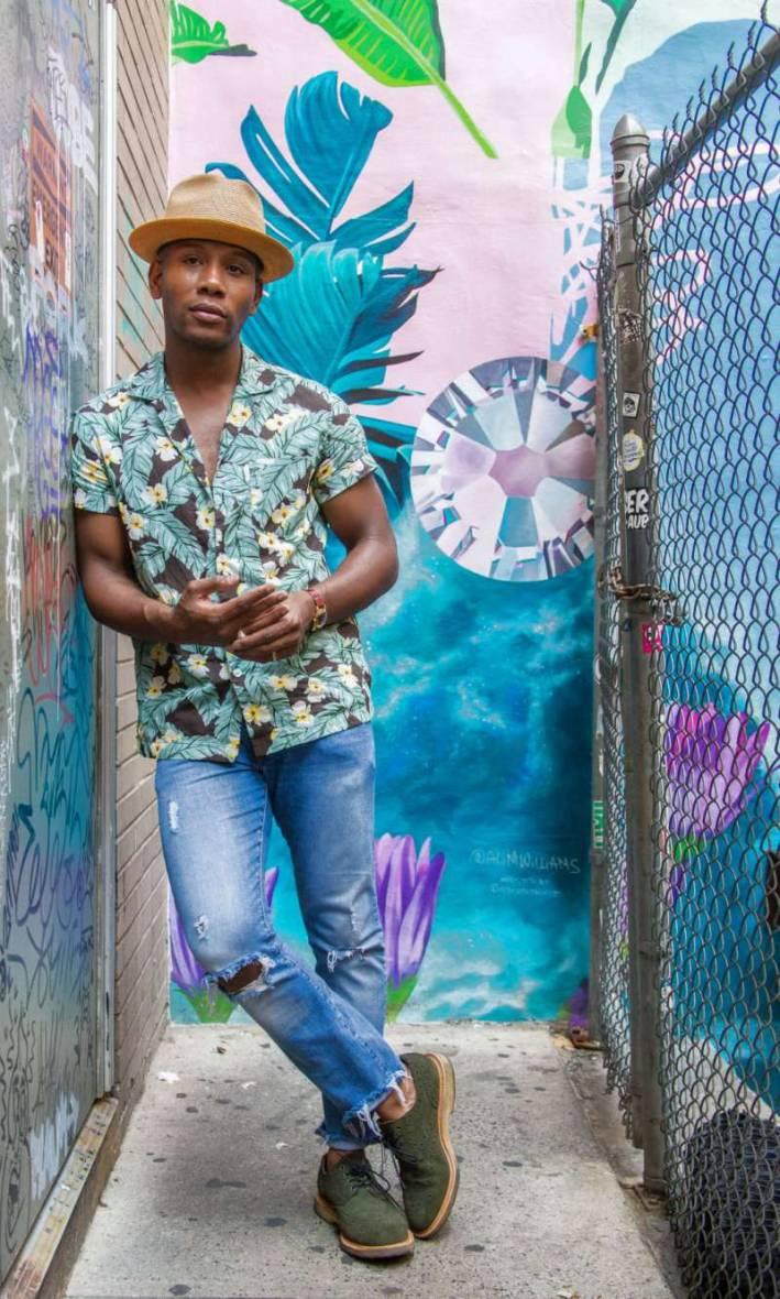 mens style pro Hawaiian shirt
