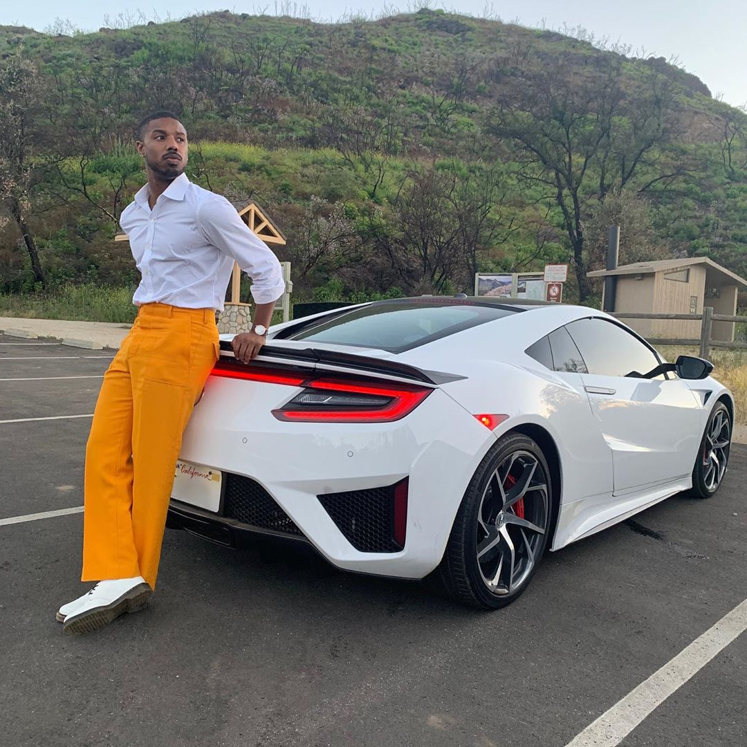 michael b. jordan yellow pants