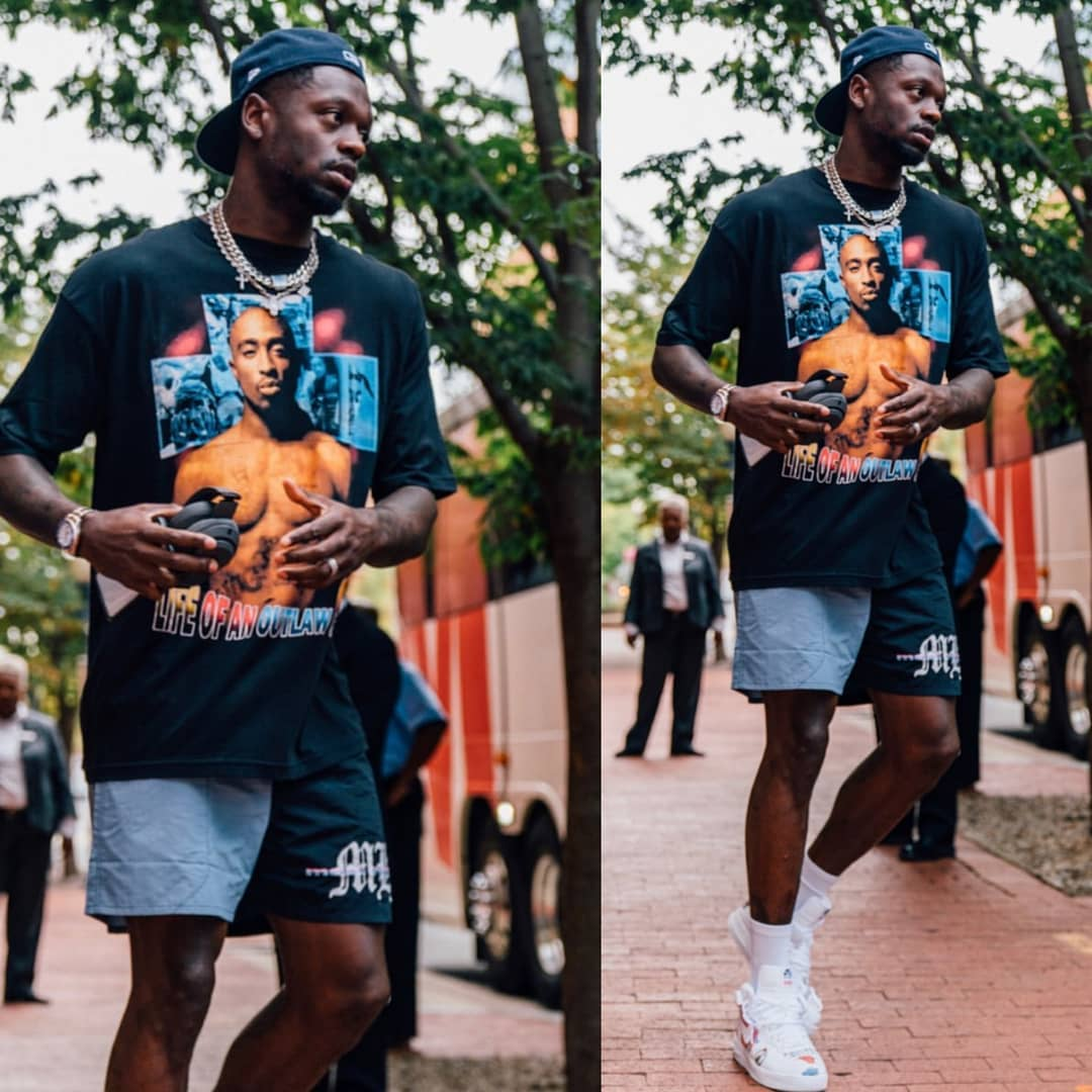 julius randle tupac shirt