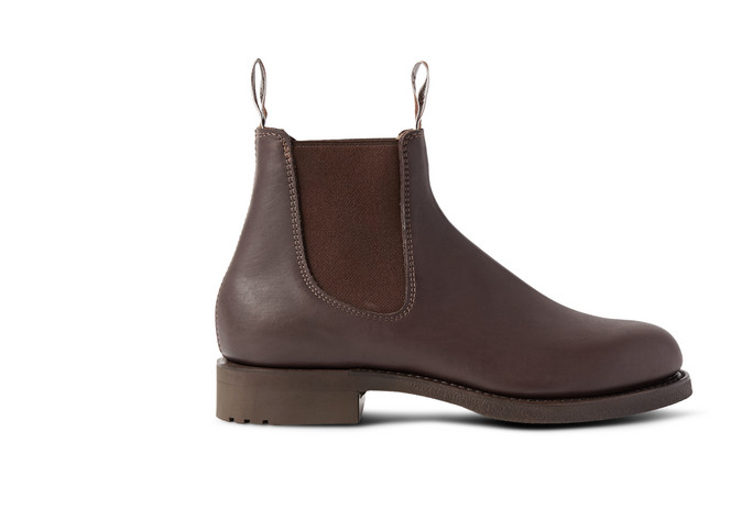 rm williams leather chelsea boots