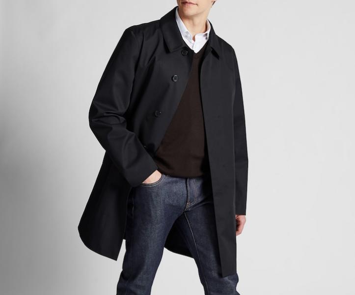 uniqlo mac trench coat