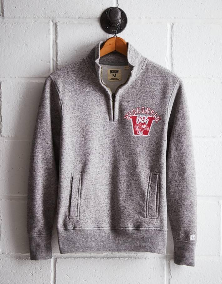 tailgate wisconsin zip-up sweatshirt