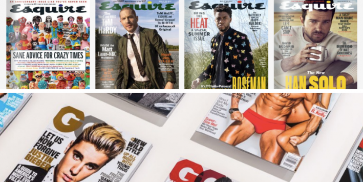 gq esquire covers 2018