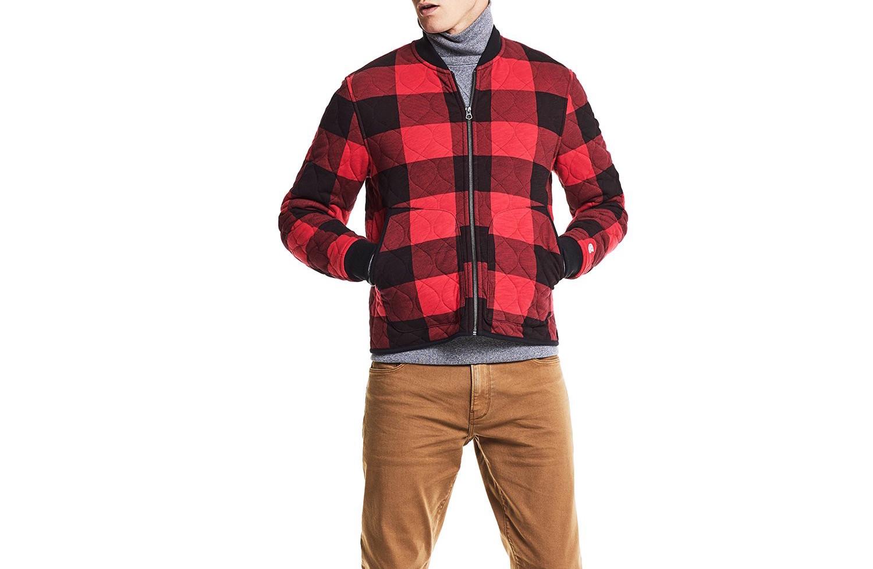 men's buffalo plaid jacket