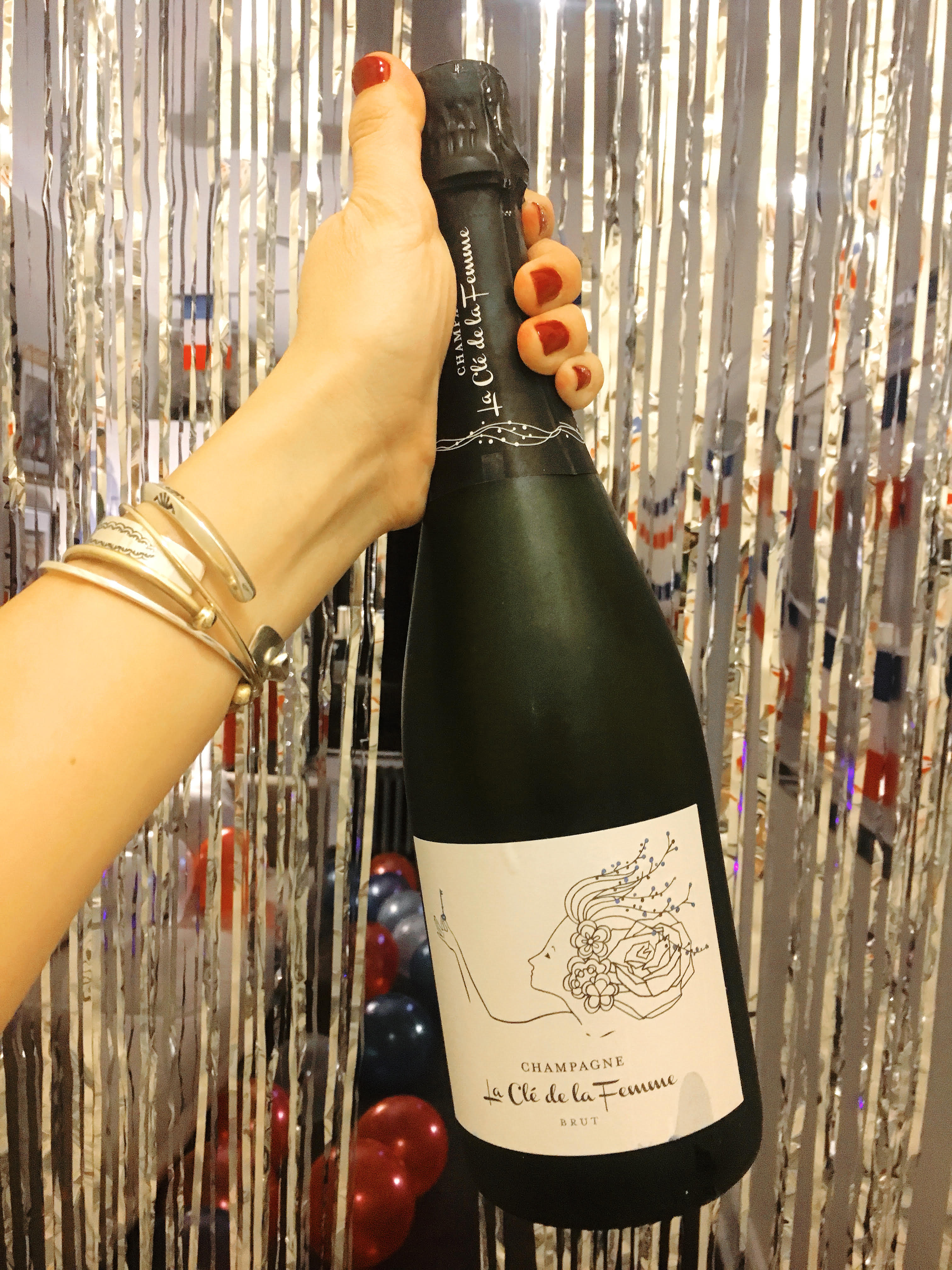 champagne for a party