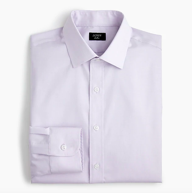 j.crew end-on-end dress shirt