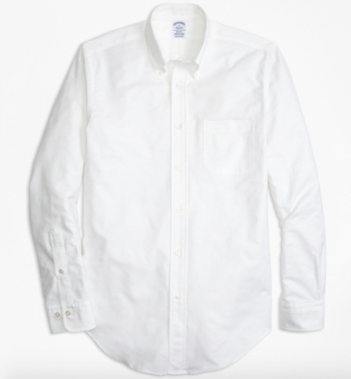 brooks brothers regent fit oxford shirt