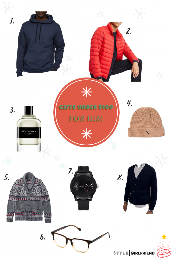 holiday gift guide under 100 for him